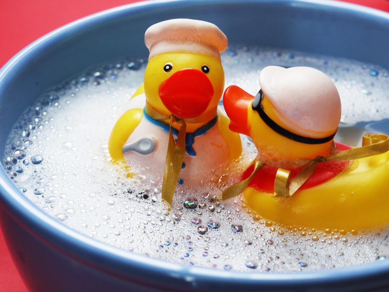Danke an MonikaP für die Badeenten :-)