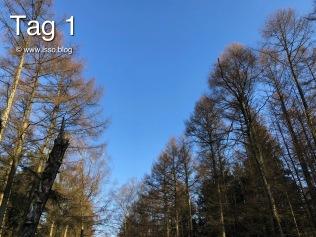 strahlend blauer Himmel