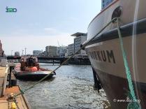 Boote vor der Hafen-City