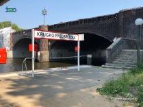 Die Krugkoppelbrücke trennt die Innen- von der Außenalster. Hier ist auch ein Fähanleger.